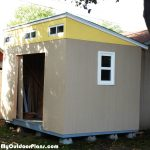 DIY 8×12 Lean to Shed