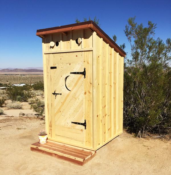 DIY Beautiful Outhouse