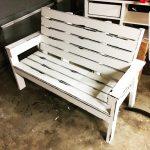 DIY Large Garden Wooden Bench