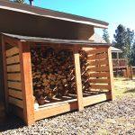 DIY Simple Firewood Storage Shed