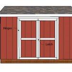 12×6 Gable Shed Doors – Free DIY Plans
