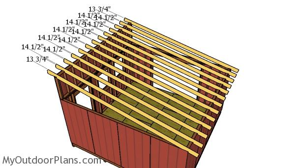 16x16 Lean To Shed Roof Plans