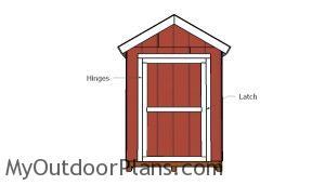 Fitting the side door