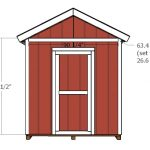 10×8 Shed Door and Trims Plans