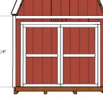 10×14 Barn Shed Doors Plans