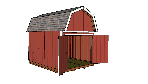 How to build a 10x14 barn shed