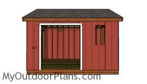 Side double door jambs
