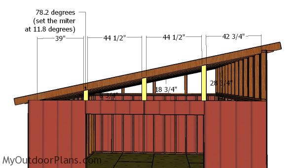 16x16 Lean To Shed Roof Plans Myoutdoorplans Free