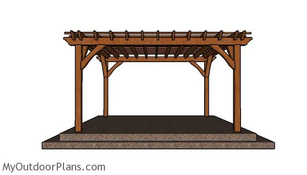 Dyi pergola retractable awning for pergola uk shade cover for 14x14 deck plans