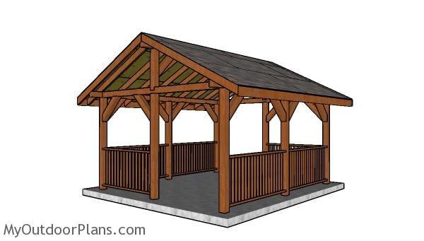 14x16 Pavilion - Free DIY Plans
