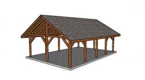 20×30 Pavilion Plans