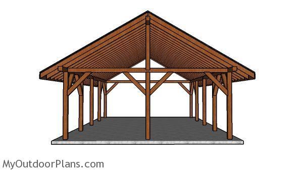 20x30 Pavilion Plans Free