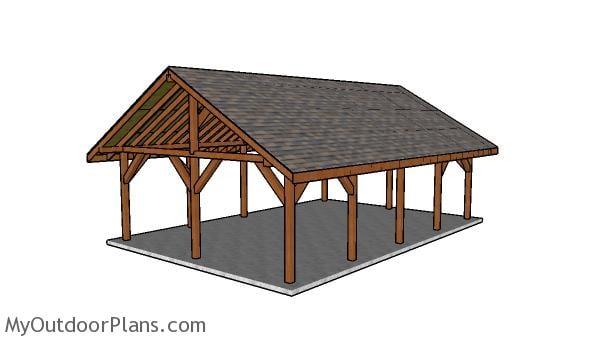 20x30 Pavilion Plans