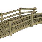 Arched Garden Bridge – Free DIY Plans
