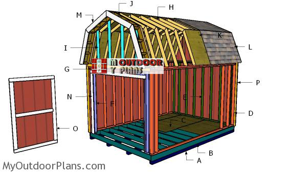 Building-a-10x14-barn-shed