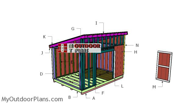 Building-a-10x14-lean-to-shed