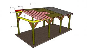12×24 Lean to Carport Roof Plans