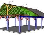 20×30 Pavilion Roof Plans