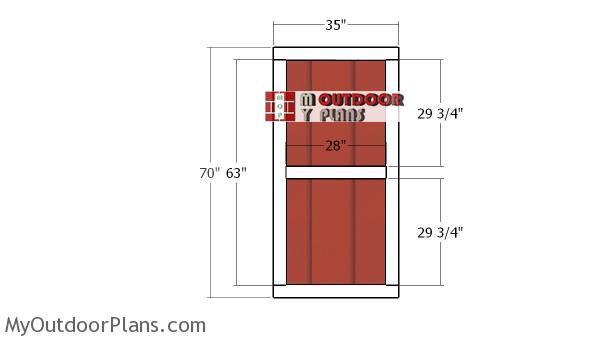 Building-shed-door