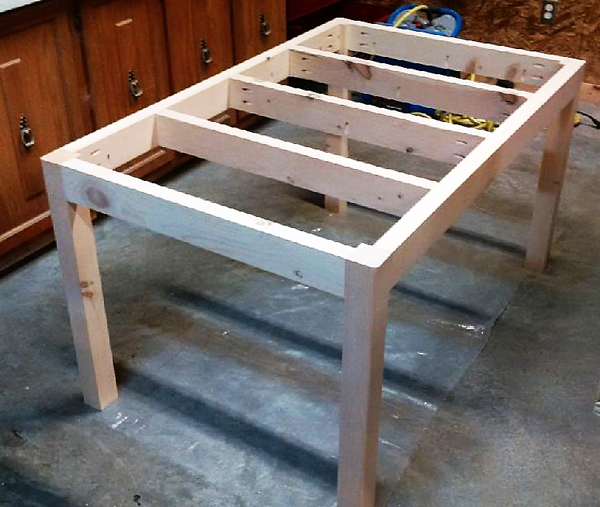 DIY Dining Table - Boulangerie | MyOutdoorPlans | Free Woodworking Plans and Projects, DIY Shed ...