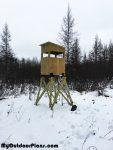 DIY 4×4 Deer Stand