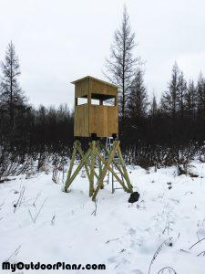 DIY-4x4-deer-stand
