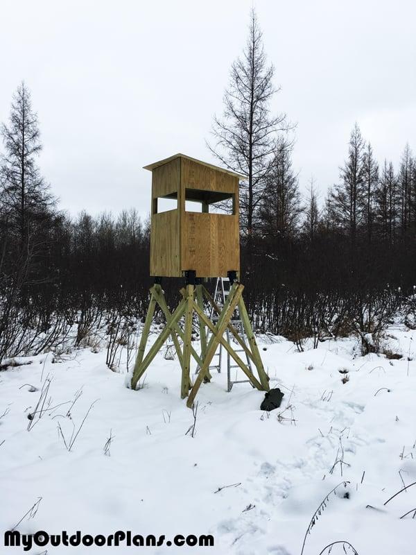 DIY 4x4 Deer Stand