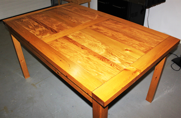 DIY Dining Table - Boulangerie
