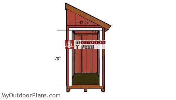Door-jambs---shed