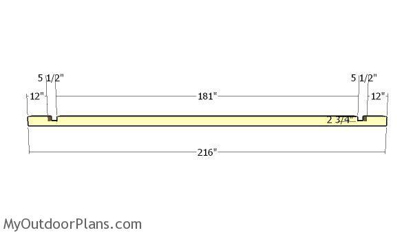 Ridge beam