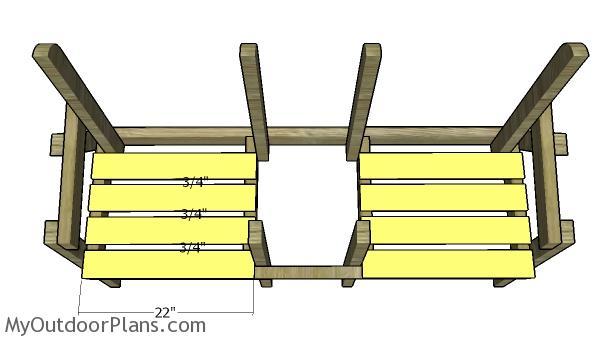 Seat slats