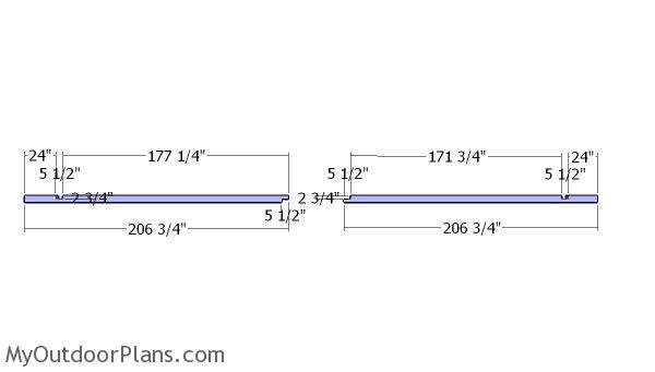 Side beams