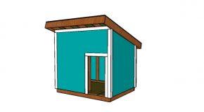 XXL Dog House Plans