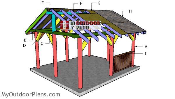 Building-a-14x16-pavilion