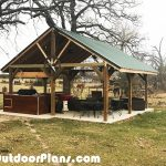 DIY 20×20 Backyard Pavilion