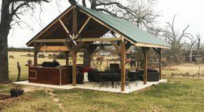 DIY 20×20 Backyard Pavilion