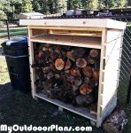 DIY Simple Small Wood Shed