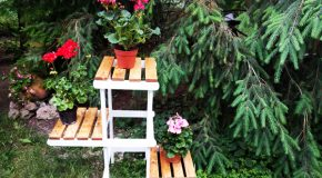 DIY Tiered Plant Stand