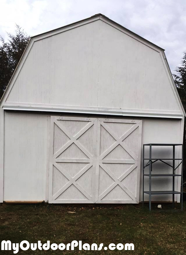 DIY-14x20-Gambrel-Shed