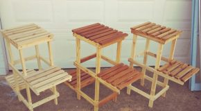 DIY 3 tier Plant Stand