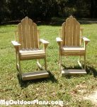 DIY High Adirondack Chair