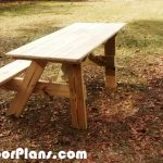 DIY 5′ Handicap Picnic Table