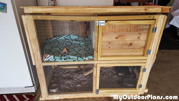 DIY Rabbit House