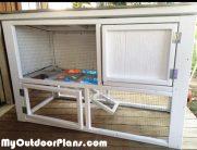 DIY Small Rabbit House