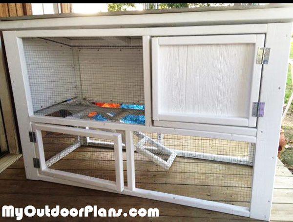 DIY Small Rabbit House | MyOutdoorPlans | Free Woodworking ...