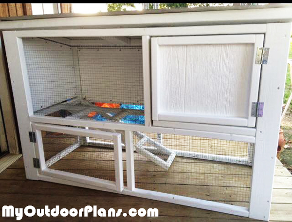 DIY Small Rabbit House