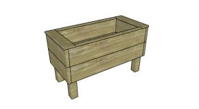 Extra Deep Planter Box – Free DIY Plans