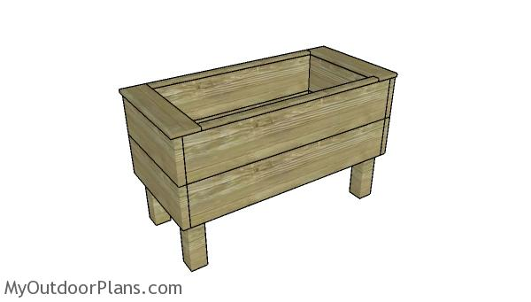 Extra deep planter box plans