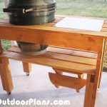 DIY Big Green Egg Table