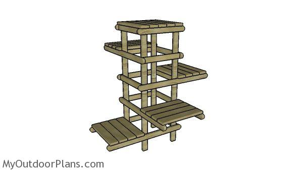 Tree Plant Stand Plans Myoutdoorplans Free Woodworking